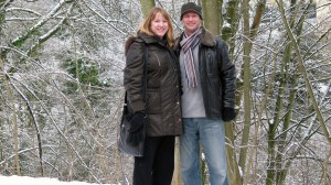 Michael & Julie in the snow