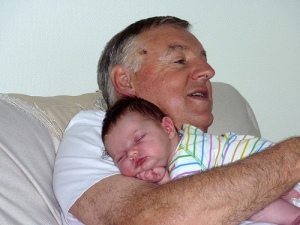 Mia-asleep-on-Garry-2