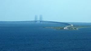 Oresund Bridge linking Sweden and Denmark