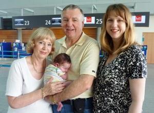 Garry-Jenny-Julie-Mia-airport