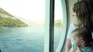 Dubrovnic-Mum&Mia-in-cabin-window