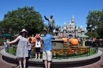 Walt statue & Sleeping Beauty Castle